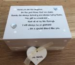 Shabby Personalised Chic Special Best Friend Gift Trinket Jewellery Box - 233001480582